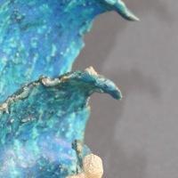 Die Welle, Keramik, 21x18x16cm
