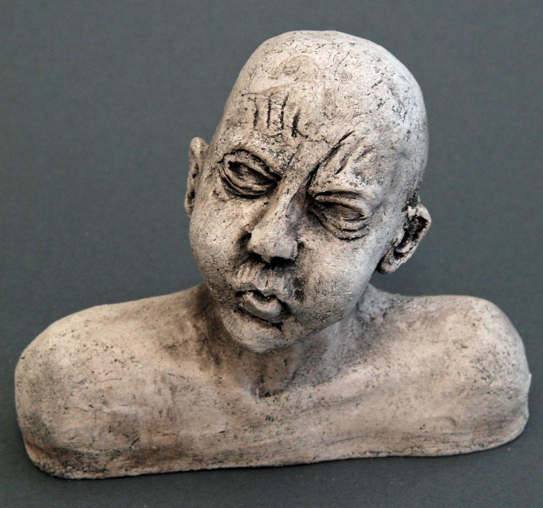 Seelenbilder die Erleichterung, Alle Seelenbilder: Keramik, 17 x 3,5 x 14 cm