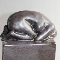 Verzweiflung, Keramik, 12 x 10 x 27 cm