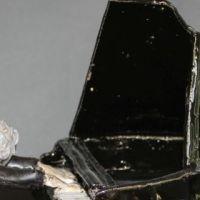 Der Virtuose, fortissimo, Keramik 30 x-23-x-18-cm